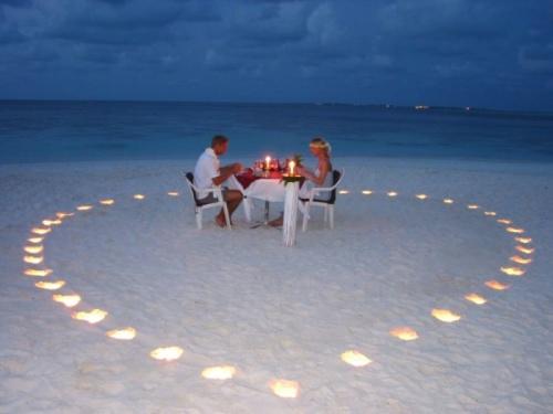 Необычные места для романтического свидания